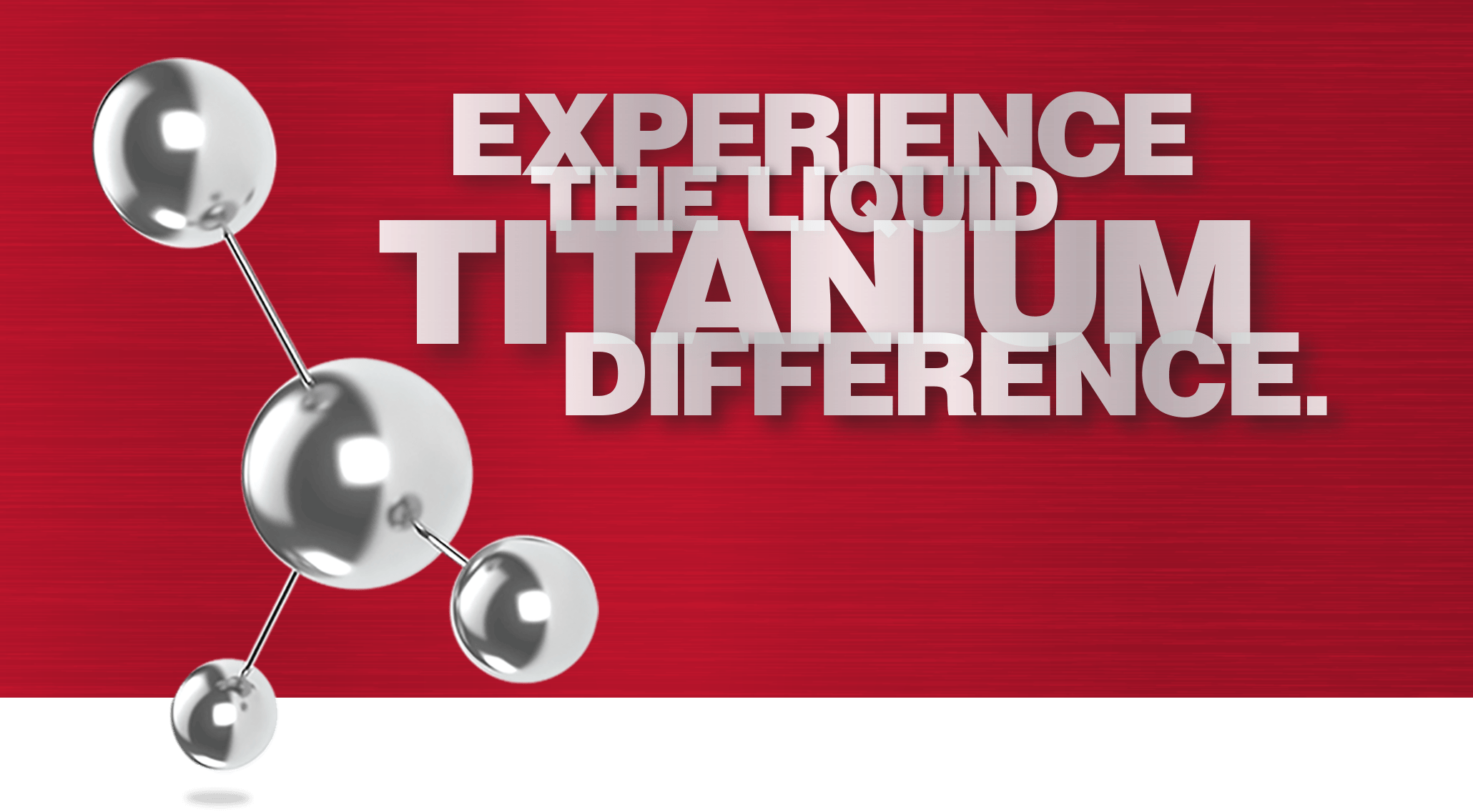 Liquid titanium difference